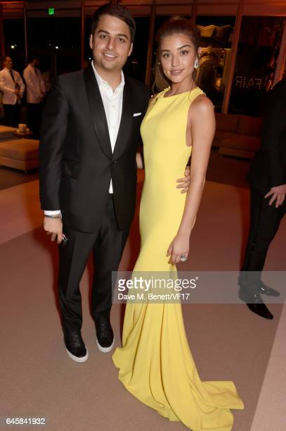 Jamie Reuben attends the 2017 Vanity Fair Oscar Party hosted by Graydon Carter at Wallis Annenberg Center for the Performing Arts on February 26 2017...