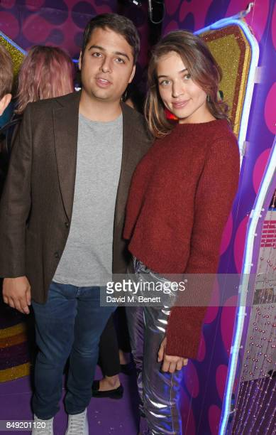 Jamie Reuben attends the LOVE magazine x Miu Miu party held during London Fashion Week at Loulou's on September 18 2017 in London England