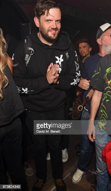 Jamie Reynolds attends the MJB x YOTA fashion capsule party supported by Ciroc who have designed MJB x YOTA Limited Edition Bottles at The Scotch of...