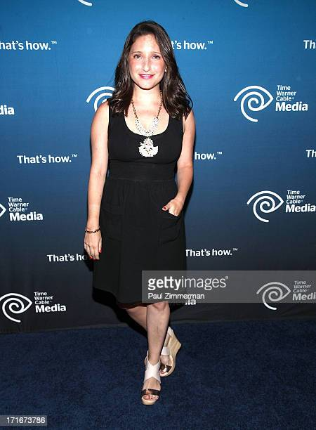 Jamie Shupak attends Time Warner Cable Media's View From The Top Upfront at Jazz at Lincoln Center on June 27 2013 in New York City