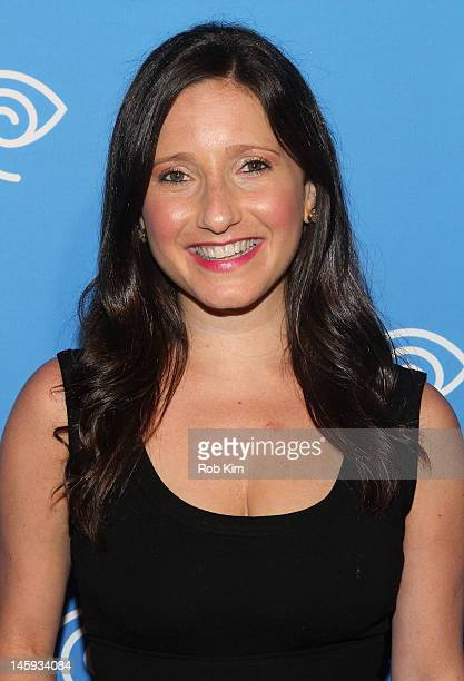 Jamie Shupak of NY1 attends the Time Warner Cable Media Cabletime Upfront at Yotel Hotel on June 7 2012 in New York City