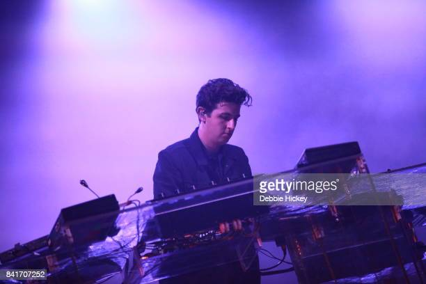Jamie Smith of The XX performs at Electric Picnic Festival at Stradbally Hall Estate on September 1 2017 in Laois Ireland