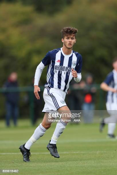 Jamie Soule of West Bromwich Albion during the U18 Premier League match between West Bromwich Albion and Manchester United on August 19 2017 in West...