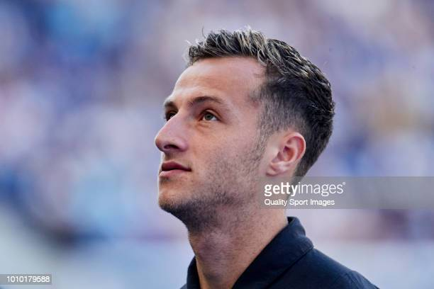 Jamie Sterry of Newcastle United looks on prior to the Preseason friendly match between FC Porto and Newcastle at Estadio do Dragao on July 28 2018...