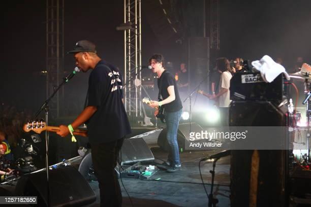 Jamie T performing at Glastonbury Festival 2010