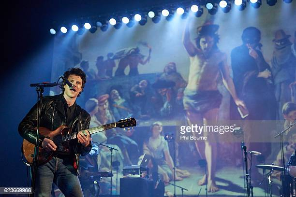 Jamie T performs at Brixton Academy on November 16, 2016 in London, England.