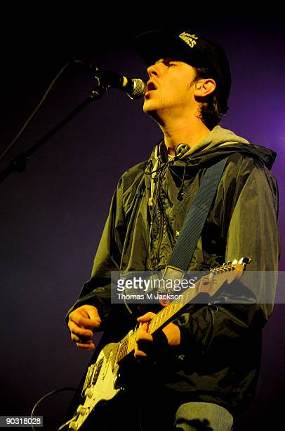 Jamie T performs at Day 3 of the Leeds Festival at Bramham Park on August 30 2009 in Leeds England