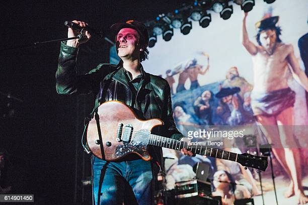 Jamie T performs at O2 Academy Leeds on October 15, 2016 in Leeds, England.