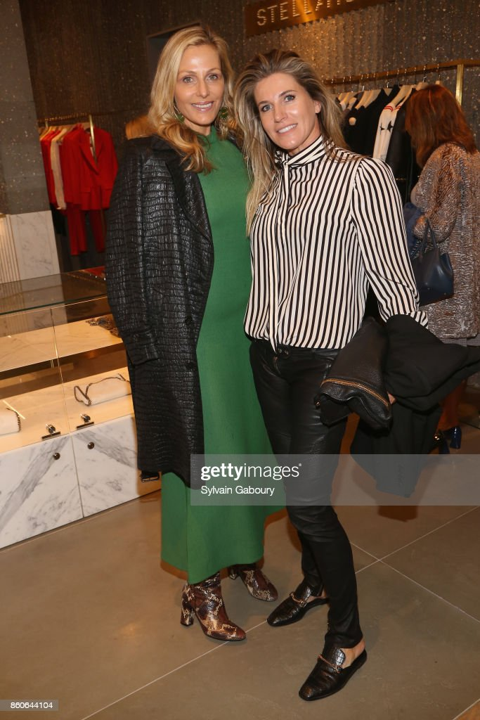 Jamie Tisch and Danielle Oerlemans attend Saks Fifth Avenue Luncheon to Benefit City Harvest at Saks Fifth Avenue on October 12, 2017 in New York City.
