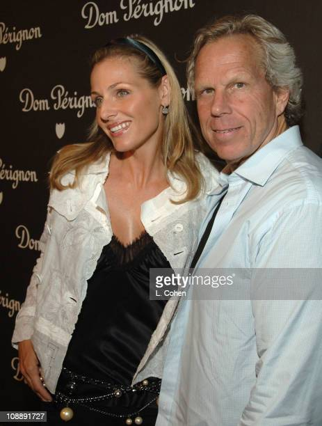 Jamie Tisch and Steve Tisch during Dom Perignon Karl Lagerfeld and Eva Herzigova Host an International Launch Event to Unveil the New Image of Dom...
