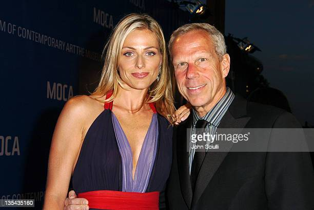 Jamie Tisch and Steve Tisch during MOCA Celebrates 25 Years Of Groundbreaking Art Achievements Red Carpet at MOCA at The Geffen Contemporary in Los...