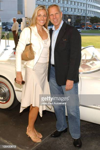 Jamie Tisch and Steve Tisch during LA Modernism Show Opening Night Gala Preview Party at Civic Auditorium in Santa Monica California United States