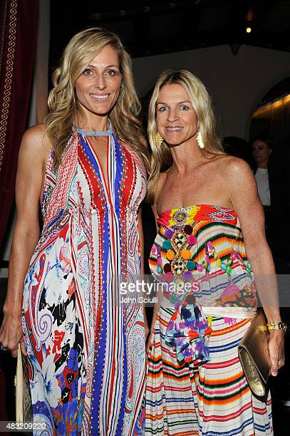 Jamie Tisch and Tom Ford West Coast VIP Relations Director Crystal Lourd attend AG Jeans and Vanity Fair Dinner Party hosted by Eric Buterbaugh at...