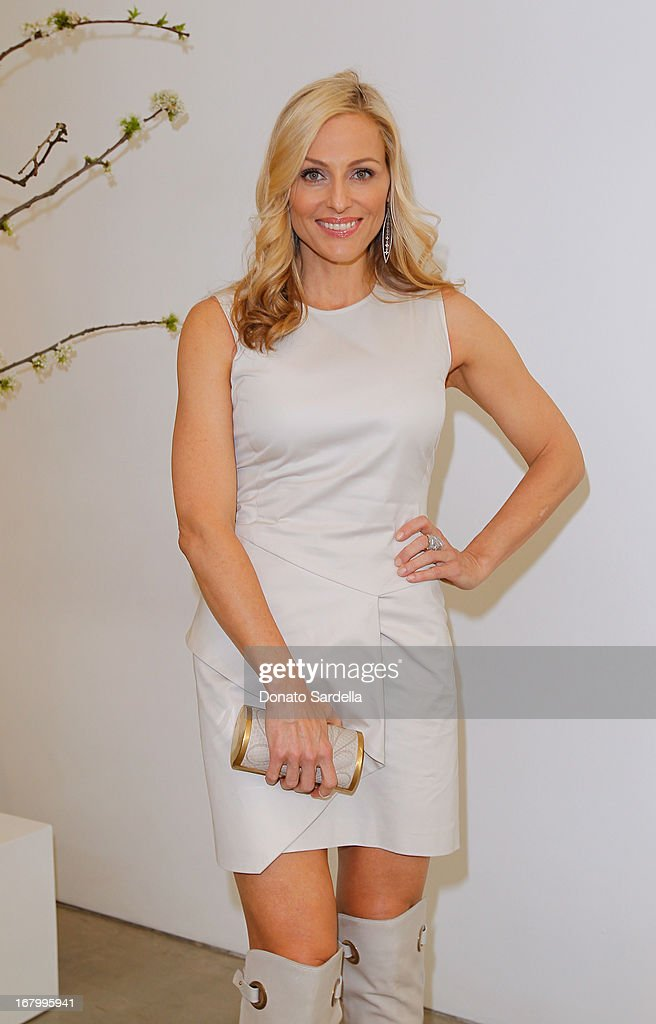 Jamie Tisch attends a cocktail reception hosted by Ferragamo to announce the inaugural opening gala for the Wallis Annenberg Center for the Performing Arts at Gagosian Gallery on May 3, 2013 in Beverly Hills, California.