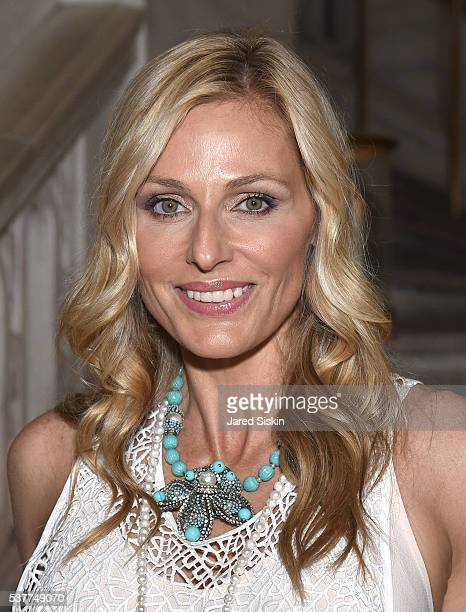 Jamie Tisch attends as CHANEL Fine Jewelry Celebrates The New York Public Library Treasures Collection at The New York Public Library on June 2 2016...