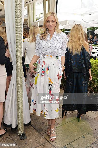 Jamie Tisch attends NETAPORTER Celebrates Women Behind The Lens at Chateau Marmont on February 26 2016 in Los Angeles California