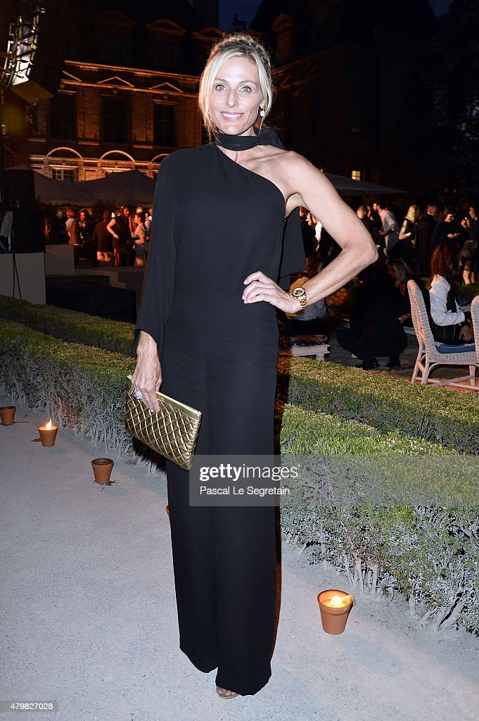 Jamie Tisch attends Tory Burch Paris Flagship Opening after party at on July 7, 2015 in Paris, France.