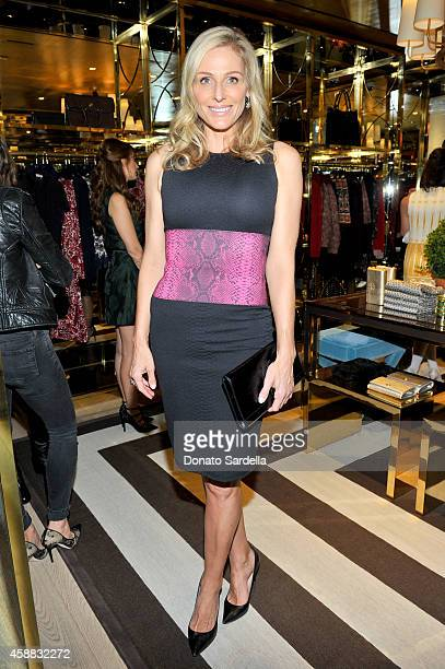 Jamie Tisch attends Vogue and Tory Burch celebrate the Tory Burch Watch Collection at Tory Burch on November 11 2014 in Beverly Hills California