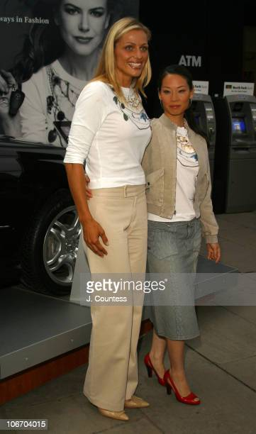 Jamie Tisch Board for WCRF and Lucy Liu during MercedesBenz Fashion Week Spring 2004 Saks Fifth Avenue and EIF's Key to the Cure and the MercedesBenz...