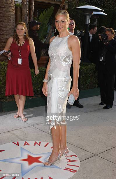 Jamie Tisch during 2005 Vanity Fair Oscar Party Arrivals at Mortons in Los Angeles California United States