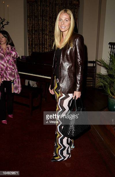 Jamie Tisch during Angela Missoni hosts Private Champagne Brunch and Preview of Special Evening Collection for Academy Awards Week at Chateau Marmont...