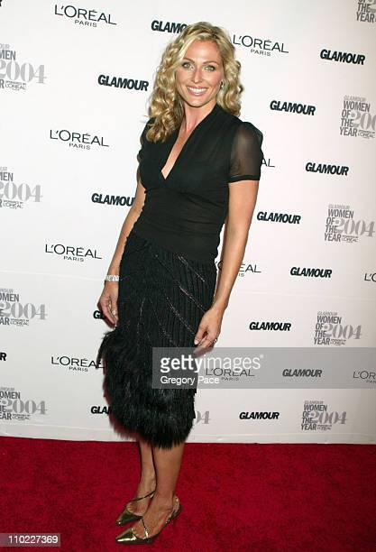Jamie Tisch during Glamour Magazine Salutes The 2004 Women of the Year Red Carpet at American Museum of Natural History in New York City New York...