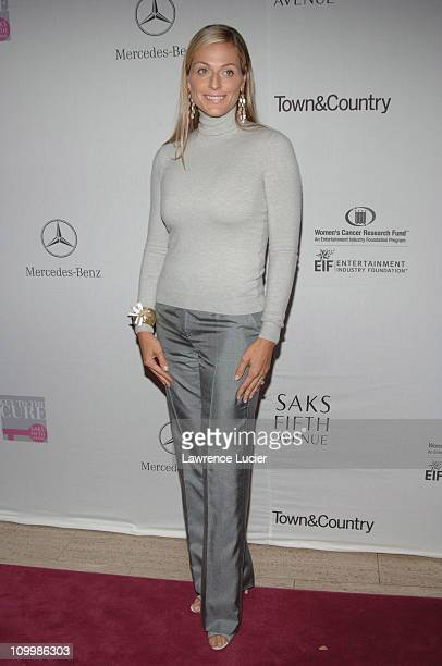 Jamie Tisch during Saks Fifth Avenue Launches The Key to The Cure Campaign Benefiting The Entertainment Industry Foundation's Women's Cancer Research...