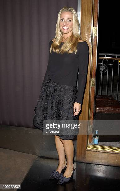 Jamie Tisch during Tom Arnold's How I Lost 5 Pounds in 6 Years Book Party at Balboa Lounge in Los Angeles California United States