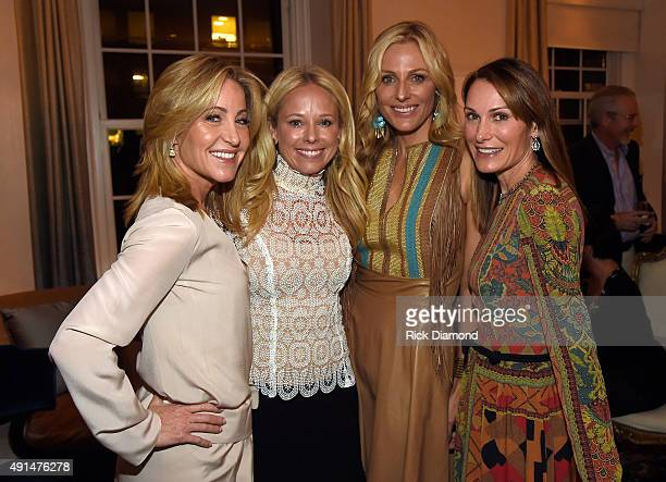 Jamie Tisch Host Benefit In Support Of The Country Music Hall Of Fame And Museum's All for The Hall New York Concert on October 5 2015 in New York...