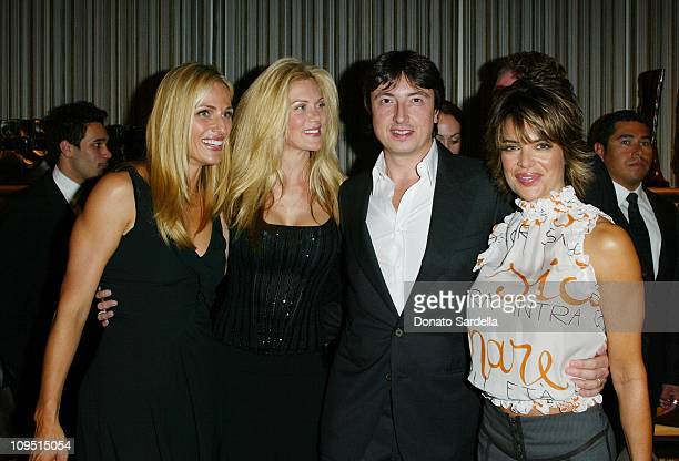 Jamie Tisch Kymberly Marciano Gianvito Rossi and Lisa Rinna