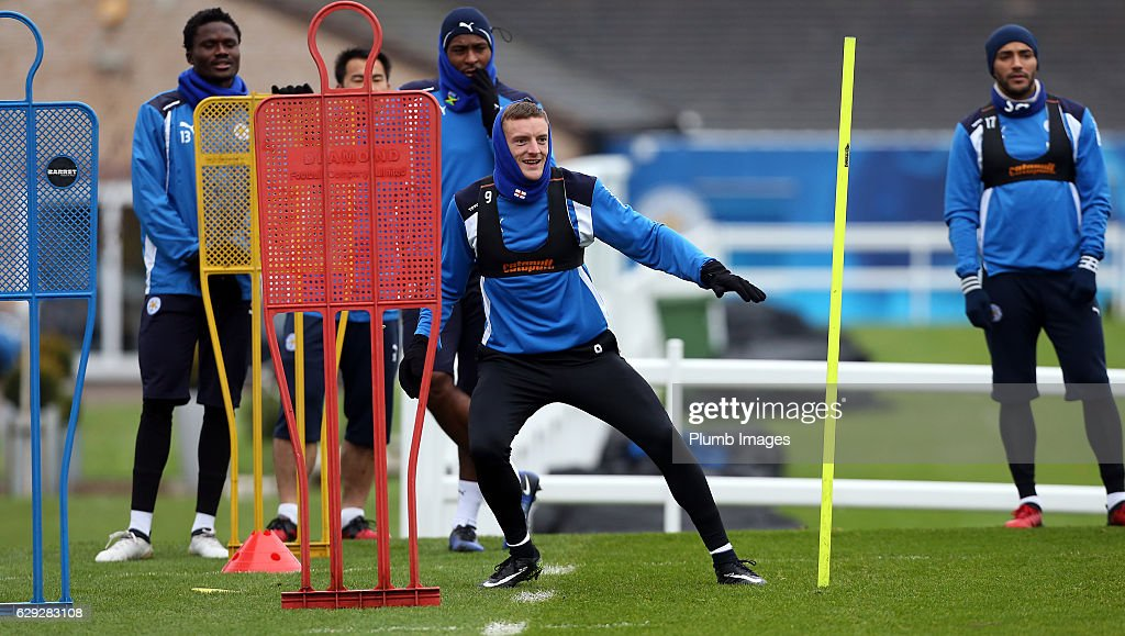 Leicester City Training Session : Nachrichtenfoto