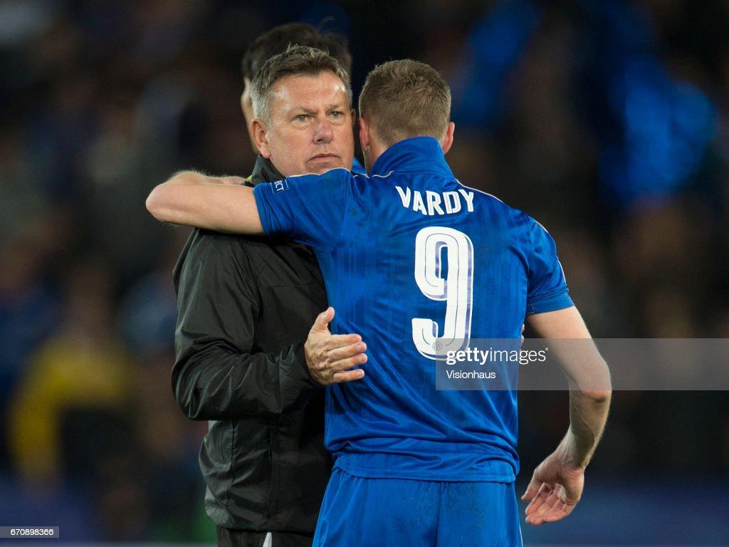 Leicester City FC v Club Atletico de Madrid - UEFA Champions League Quarter Final: Second Leg : News Photo