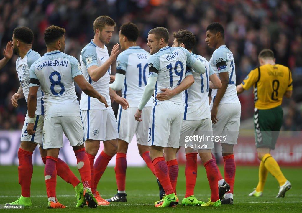 England v Lithuania - FIFA 2018 World Cup Qualifier : News Photo
