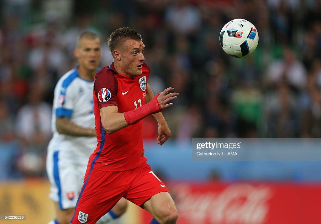 Slovakia v England - Group B: UEFA Euro 2016 : News Photo