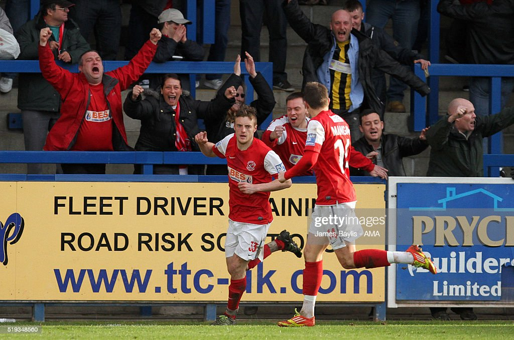 Blue Square Bet Premier - AFC Telford United v Fleetwood Town : News Photo