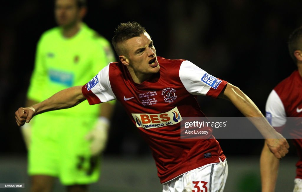 Fleetwood Town v Blackpool - FA Cup Third Round : News Photo