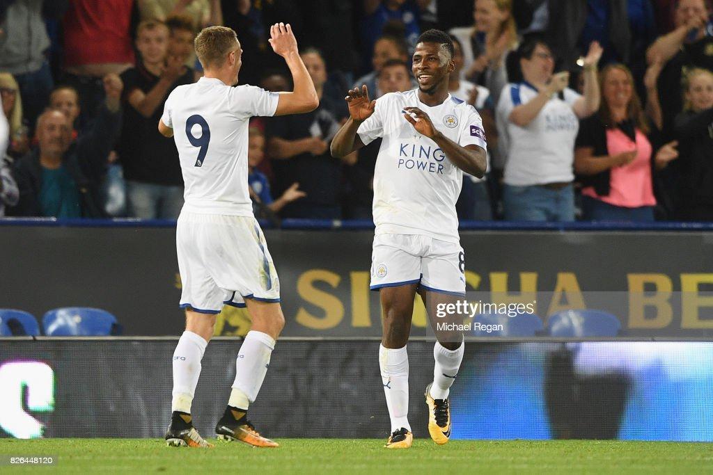 Leicester City v Borussia Moenchengladbach - Preseason Friendly : News Photo