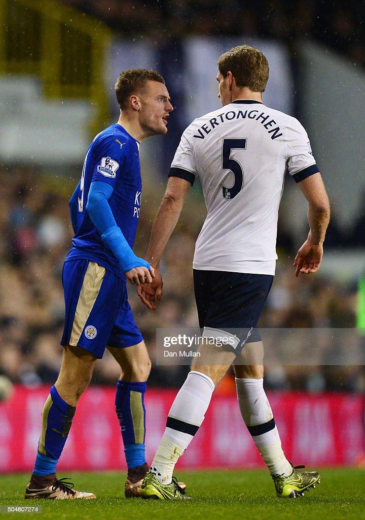Tottenham Hotspur v Leicester City - Premier League : Nyhetsfoto