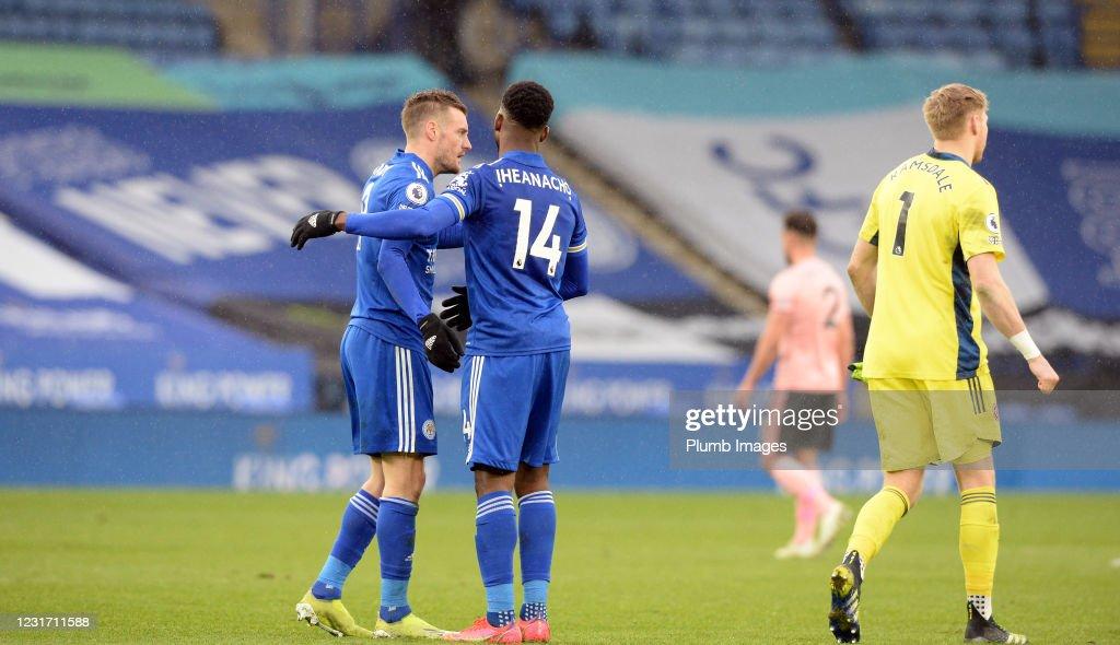 Leicester City v Sheffield United - Premier League : News Photo