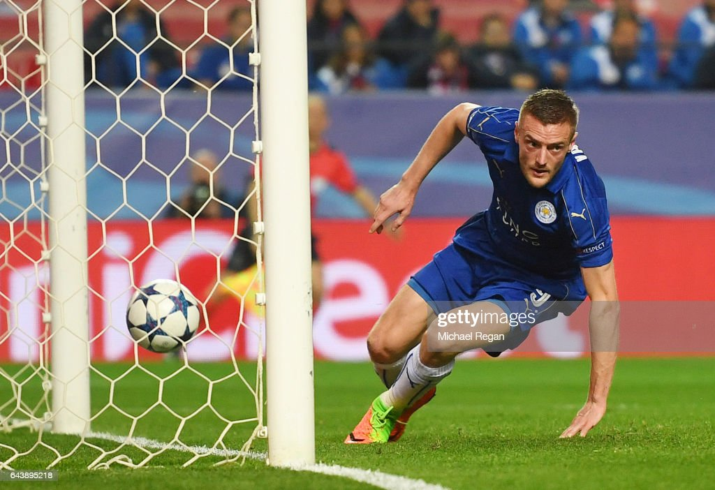 Sevilla FC v Leicester City - UEFA Champions League Round of 16: First Leg : News Photo
