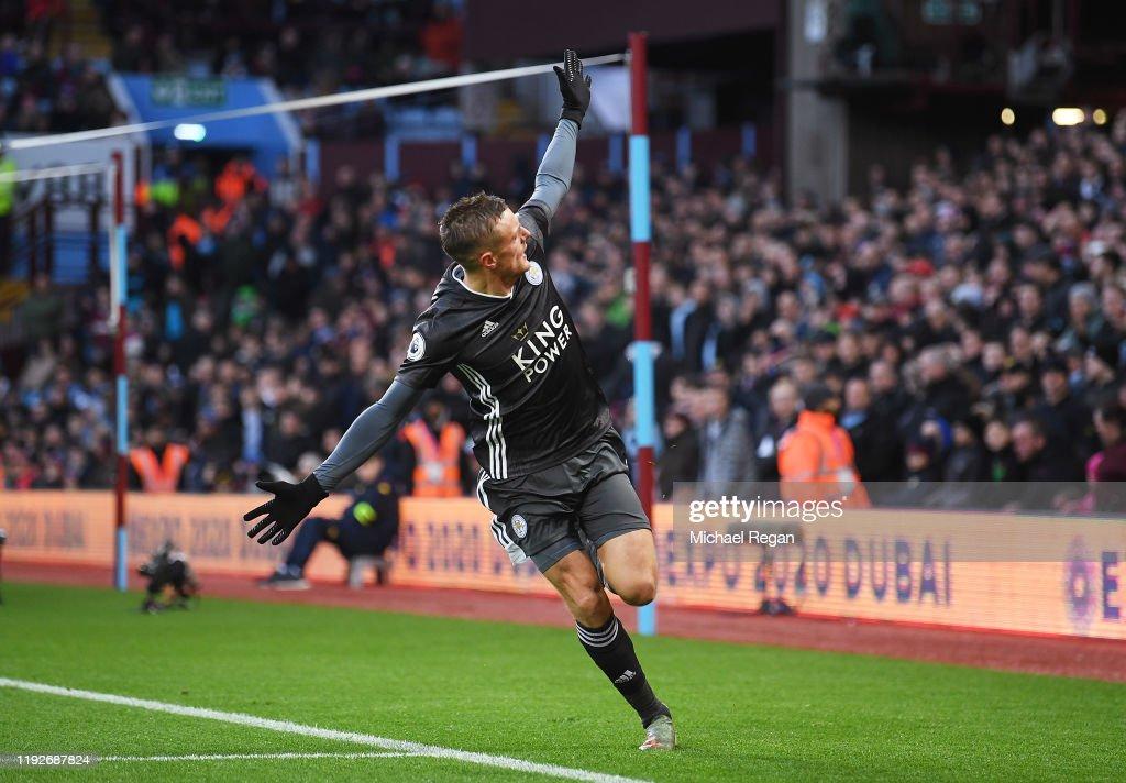 Aston Villa v Leicester City - Premier League : News Photo