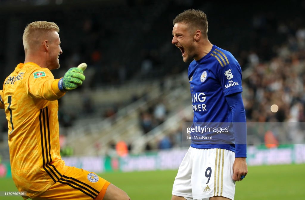 Newcastle United v Leicester City - Carabao Cup Second Round : News Photo