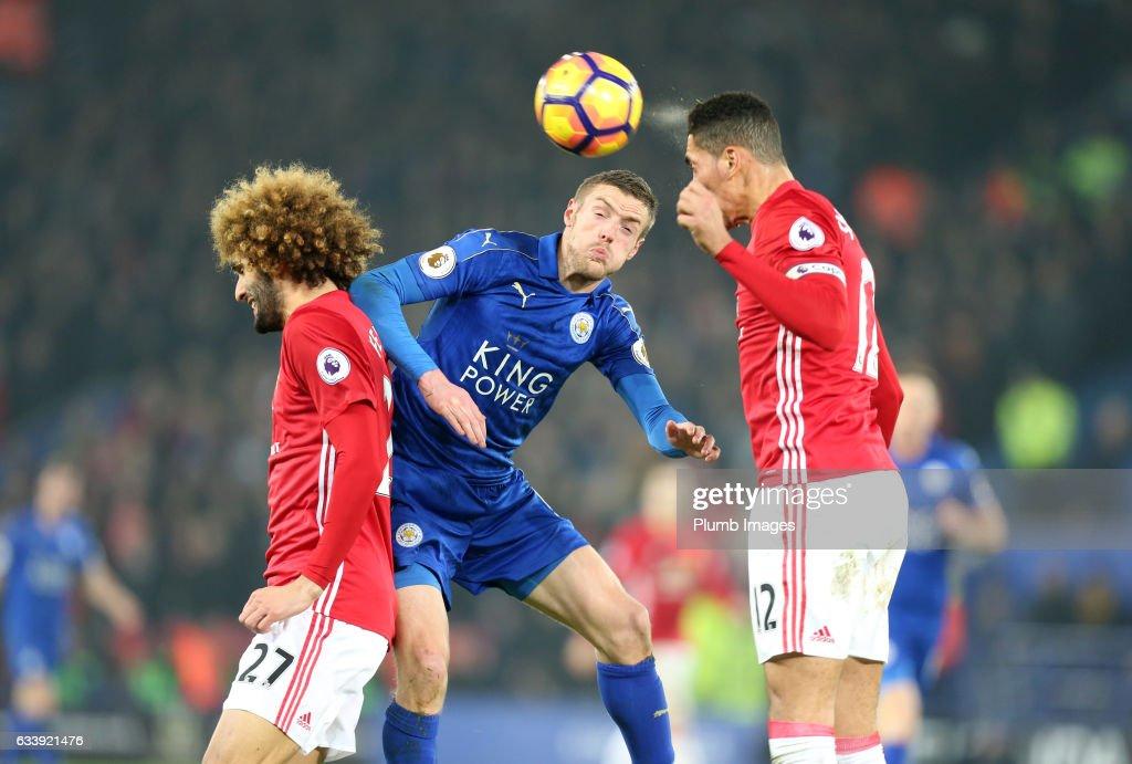 Leicester City v Manchester United - Premier League : Fotografía de noticias