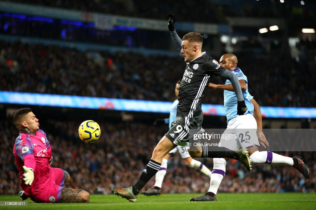 Manchester City v Leicester City FC - Premier League : News Photo