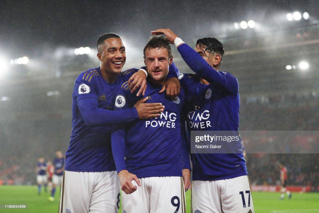 Southampton FC v Leicester City - Premier League : Foto di attualità