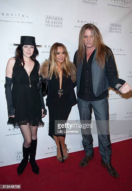 Jamie Wachtel Suzanne Le and Sebastian Bach attend Sofitel Los Angeles at Beverly Hills hosts The 2016 Award Season Wrap Party at Sofitel Los Angeles...
