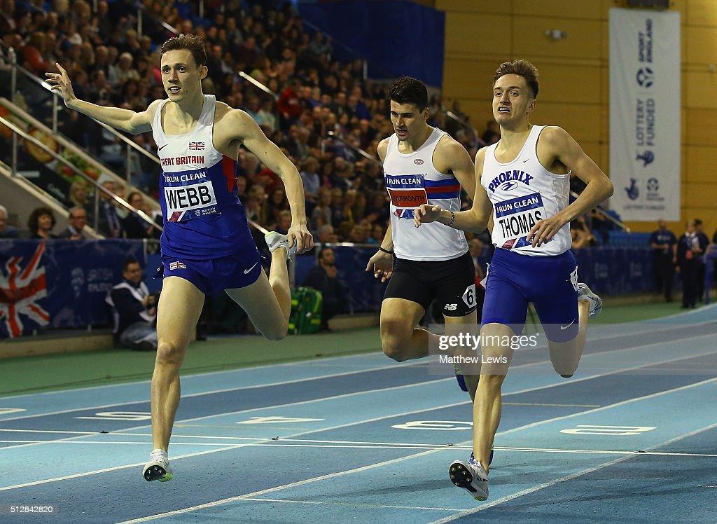 Indoor British Championships - Day Two : News Photo