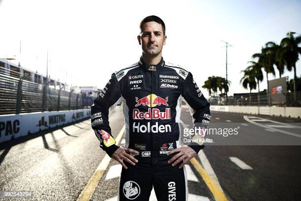 Jamie Whincup driver of the Red Bull Holden Racing Team Holden Commodore ZB poses for a portrait ahead of the Supercars Townsville 400 on July 6 2018...
