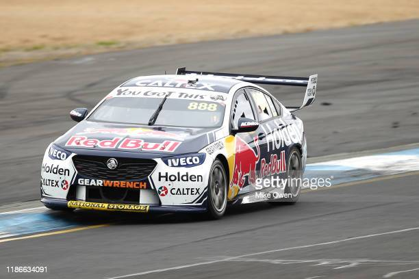 Jamie Whincup drives the Red Bull Holden Racing Team Holden Commodore ZB during race 30 for the Sandown 500 part of the 2019 Supercars Championship...