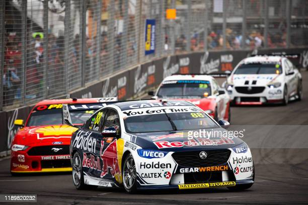 Jamie Whincup drives the Red Bull Holden Racing Team Holden Commodore ZB during race 2 of the Newcastle 500 as part of the 2019 Supercars...